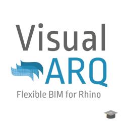 VisualARQ 2.0 para Rhino Estudiante / Profesor