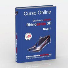 Curso online de Diseño de calzado con Rhino 3D + Tutoría personalizada