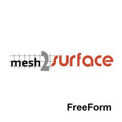 Mesh2Surface FreeForm