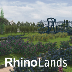 RhinoLands (Rhinoceros 7 + Lands Design)