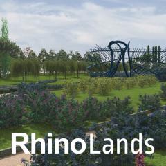 RhinoLands (Rhinoceros 7 + Lands Design)