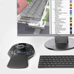 Sketchup Pro 2021 + 3Dconnexion SpaceMouse Pro Wireless