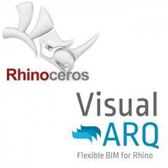 Rhinoceros + VisualARQ