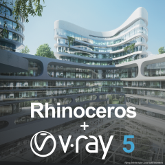 V-Ray + Rhinoceros