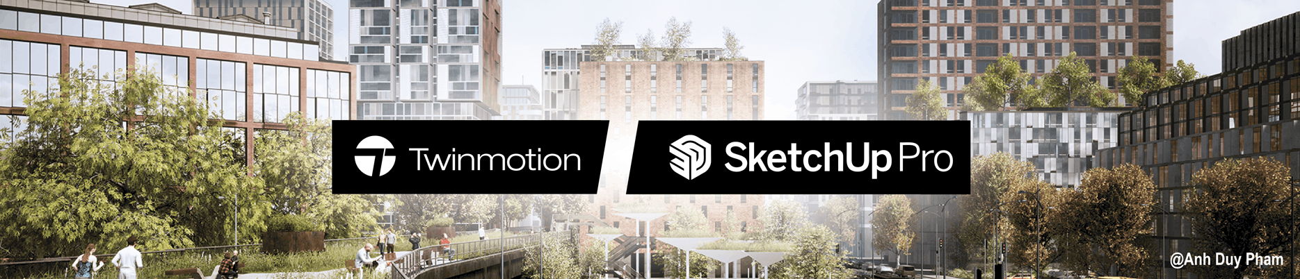 SketchUp PRO y Twinmotion | del modelado 3D a la realidad