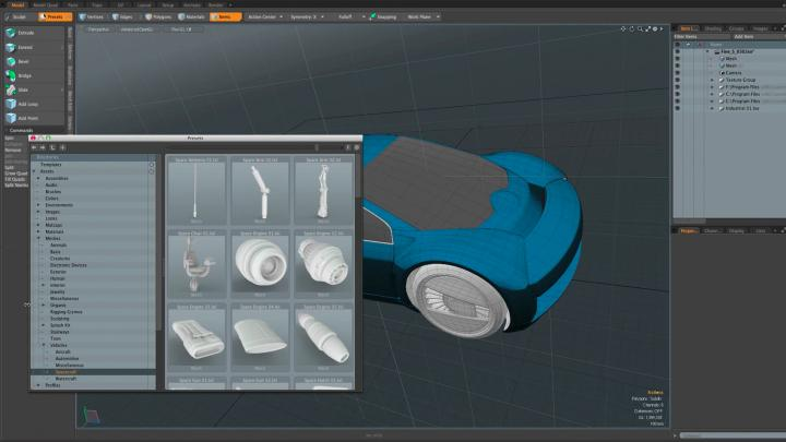 UV workflows by Modo