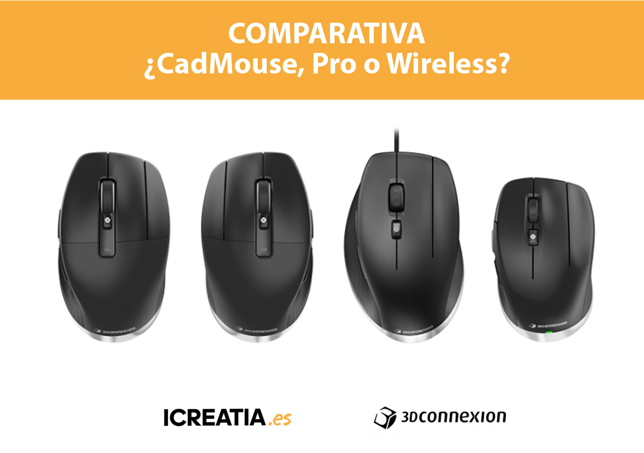CadMouse, Pro o Wireless. ¿Con cuál me quedo?