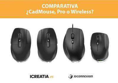 CadMouse, Pro o Wireless. ¿Con cuál me quedo?