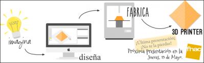 Presentación de Rhino + impresión en 3D en Fnac L'Illa (Barcelona) - jueves 19 de mayo, 18:30h
