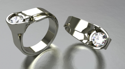 Diseño de joyas y modelado 3D con Rhino