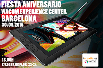 Fiesta 1º Aniversario Wacom Experience Center Barcelona