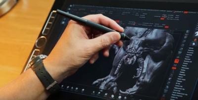 ¿Cuáles son las funciones de botón predeterminadas en el Wacom Pro Pen 3D?