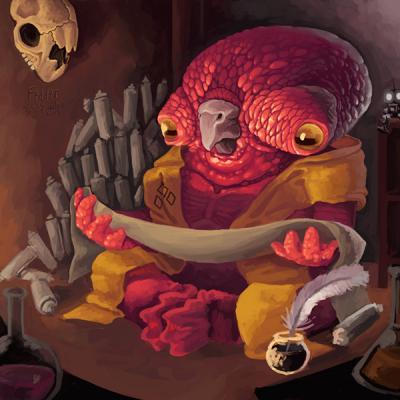 Un artista de 15 años ilustra un universo de monstruos con su Wacom