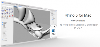 Webinar gratuito Rhino 5 para Mac
