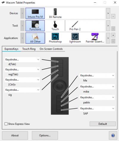 ¿Por qué el lápiz se desplaza en lugar de dibujar o seleccionar todo en Windows?