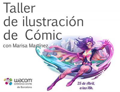 Taller de ilustración de Cómic y Manga con Marisa Martínez