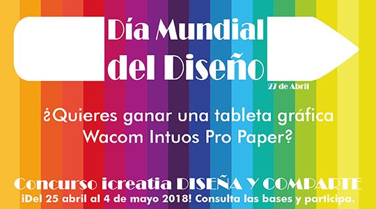 Icreatia premia el orgullo gráfico con una tableta Wacom Intuos Pro M Paper Edition