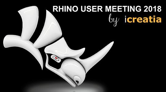 Abiertas las inscripciones al Rhino User Meeting 2018