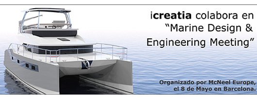 """Icreatia en el """"Marine Design & Engineering Meeting"""" BCN"""