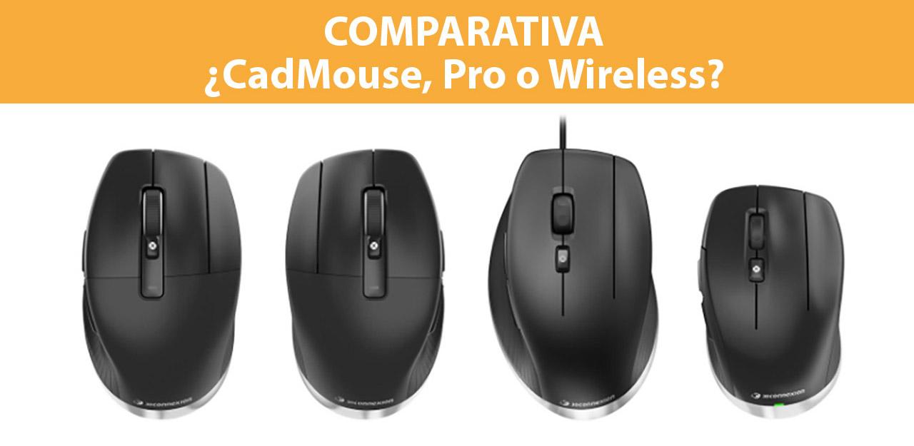 comparativa 3d connexion