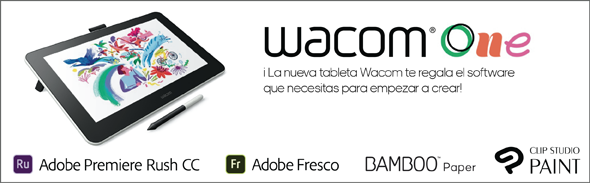 software de regalo - wacom one