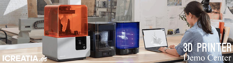 Impresoras 3D demos