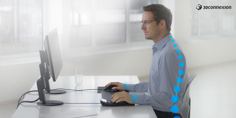 ergonomía y 3d connexion